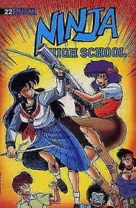 Ninja High School #22 VF/NM; Malibu | save on shipping - details inside
