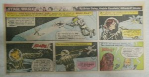 Star Wars Sunday Page by Alfred Alcala from 2/1/1981 Third Full Page Size!