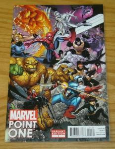 Point One #1A VF/NM; Marvel 1st appearance of nova (sam alexander) variant cover