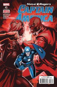 Captain America: Steve Rogers #3, VF+ (Stock photo)