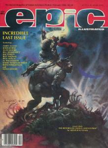 Epic Illustrated #34 VF; Epic | save on shipping - details inside