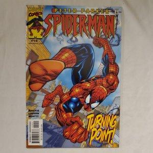 Peter Parker Spider-Man 19 Very Fine/Near Mint Cover by Erik Larsen