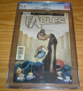 Fables #3 CGC 9.6 bill willingham - vertigo comics - james jean cover 2002
