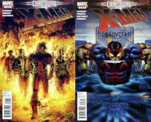 X MEN CHAOS WAR (2011) 1-2 complete 'Chaos War' tie-in