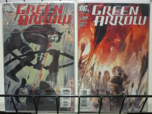 GREEN ARROW (2001) 58-59  Until The End Of The World