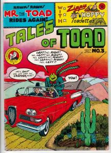 Tales Of The Toad #3 (Jan-73) FN/VF Mid-High-Grade Mr.Toad, Zippy The Pinhead