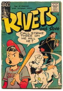 Rivets #3 1956- Argo comics- FINAL ISSUE VG