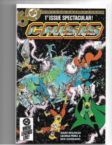 CRISIS ON INFINITE EARTHS #1 - NM - 1ST BLUE BEETLE - COPPER AGE KEY - PEREZ