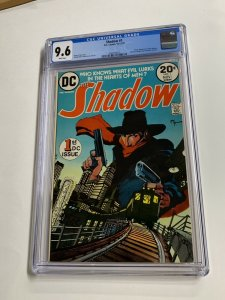 The Shadow 1 Cgc 9.6 White Pages Dc Comics Bronze Age Mike Kaluta 2040156012