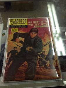 Classics Illustrated #95 All Quiet on the Western Front 1B FN-