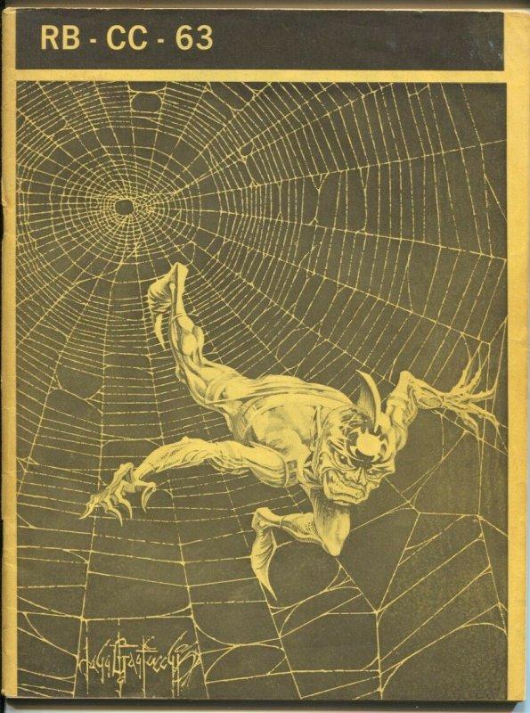 Rockets Blast Comic Collector #63 1969-original buy-sell-ad fanzine-Rogofsky-FN