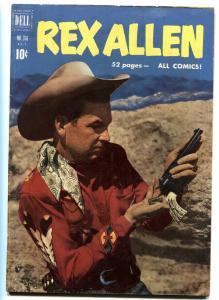 Rex Allen Four Color Comics #3161951-Dell-comic-VF-