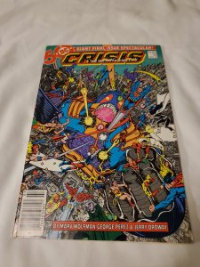 Crisis on Infinite Earths 12 Near Mint- Art by George Perez and Jerry Odrway
