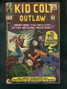 KID COLT OUTLAW #124 1965-COOL! VG
