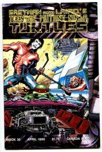 TEENAGE MUTANT NINJA TURTLES #30 comic book 1990 NM-
