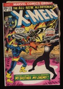 Uncanny X-Men #97 GD- 1.8 Cyclops vs. Havok!
