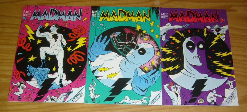 Madman #1-3 VF/NM complete series - mike allred - tundra set - 1st prints lot 2