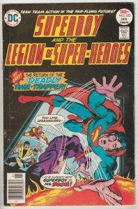 Superboy #223 (Jan-77) FN High-Grade Superboy, Legion of Super-Heroes