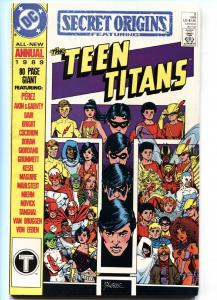 Secret Origins #3- vf 1989-Teen Titans origin-comic book DC