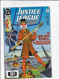 Justice League Europe #20