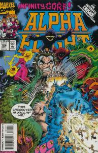 Alpha Flight (1st Series) #124 VF/NM; Marvel | save on shipping - details inside