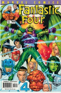 Fantastic Four(vol. 2)# 38,39,40,41,42,43,44,45 Annihilus! She Hulk!Sub Mariner!