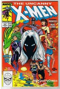 X-MEN #253, NM-, Wolverine, Chris Claremont, Uncanny, more in store