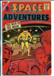 Space Adventures #53-1963-Charlton-Men In The Moon-Flying Saucer-VG