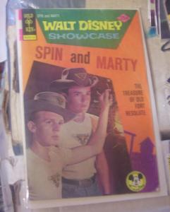 Walt Disney Showcase #32 (Oct 1975, Western Publishing) SPIN AND MARTY