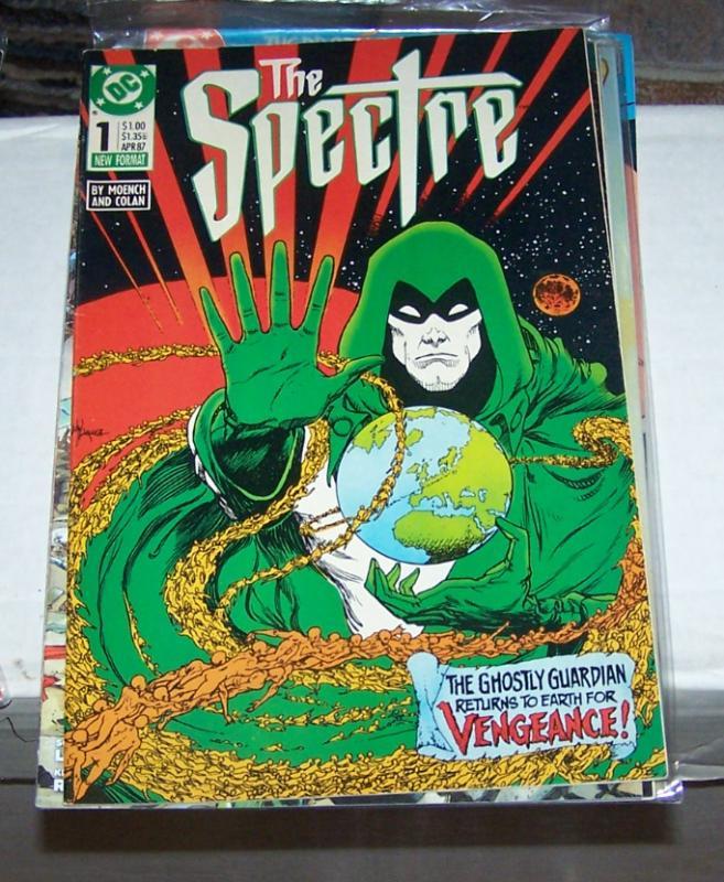 The Spectre #1 (Apr 1987, DC) VENGENANCE + JIM CORRIGAN