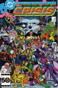 Crisis on Infinite Earths #9, VF+ (Stock photo)