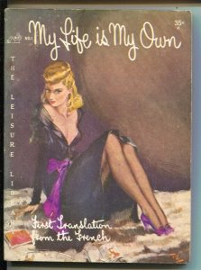 Leisure Library #1 1950-1st issue-My Life Is My Own-J.J. Morac-VG