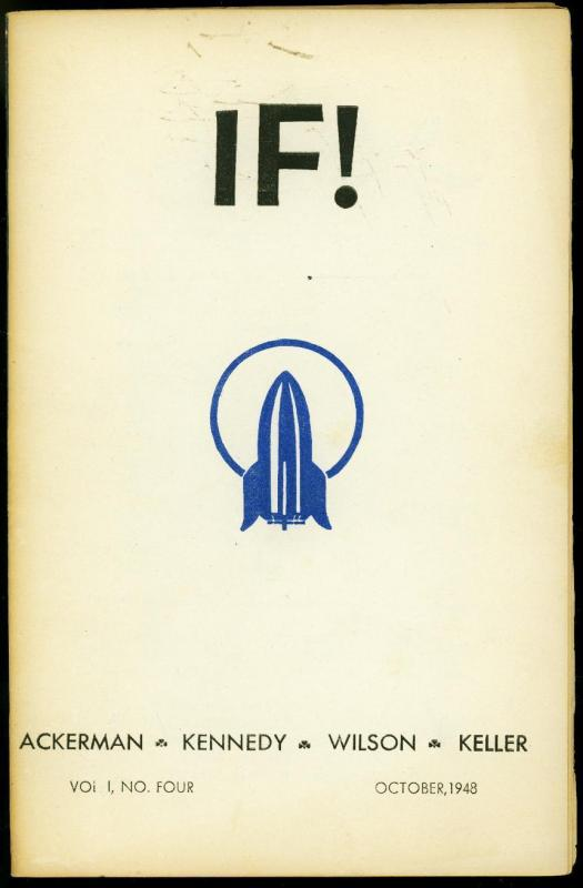 If! fanzine #4 1948- Forest J Ackerman- Science fiction and pulps FN