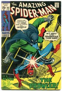 Amazing Spider-Man #93 1971- 1st Arthur Stacy- Prowler VG-