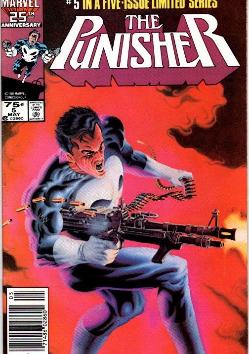 the punisher #1,4,5 vfn/nm $12.50