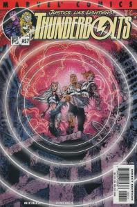 Thunderbolts #57 VF; Marvel | save on shipping - details inside