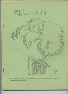 APA-L #88 – Fanzine from the Los Angeles Science Fantasy Society (June, 1966)