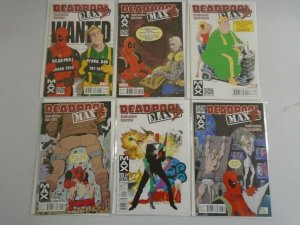 Deadpool Max 2 set #1-6 8.0 VF (2011)