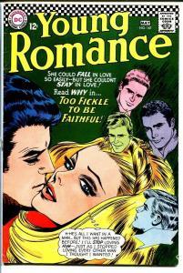 YOUNG ROMANCE #147 1967-DC ROMANCE-FN FN