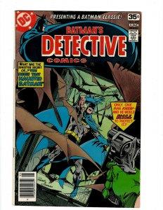 Detective Comics # 477 VF/NM DC Comic Book Batman Robin Joker Catwoman SR1