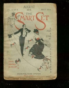 SMART SET-PULP-AUG 1903-LOADED WITH HISTORIC ADS & PULP FR