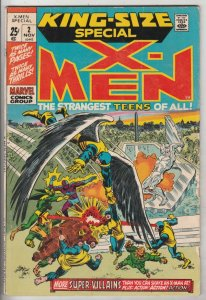 X-Men King-Size Special #2 (Nov-71) VG/FN+ Mid-Grade X-Men