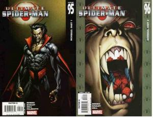 ULTIMATE SPIDER-MAN (2000) 95-96  MORBIUS