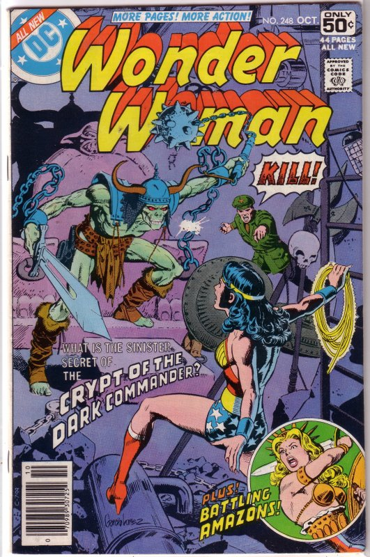 Wonder Woman   vol. 1   #248 VG Tales of the Amazons, Harris/Delbo