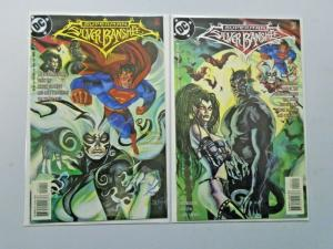 Superman Silver Banshee set #1 to #2 - 8.0 - 1998 to 1999