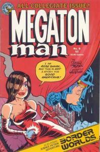 Megaton Man (1984 series) #8, NM (Stock photo)