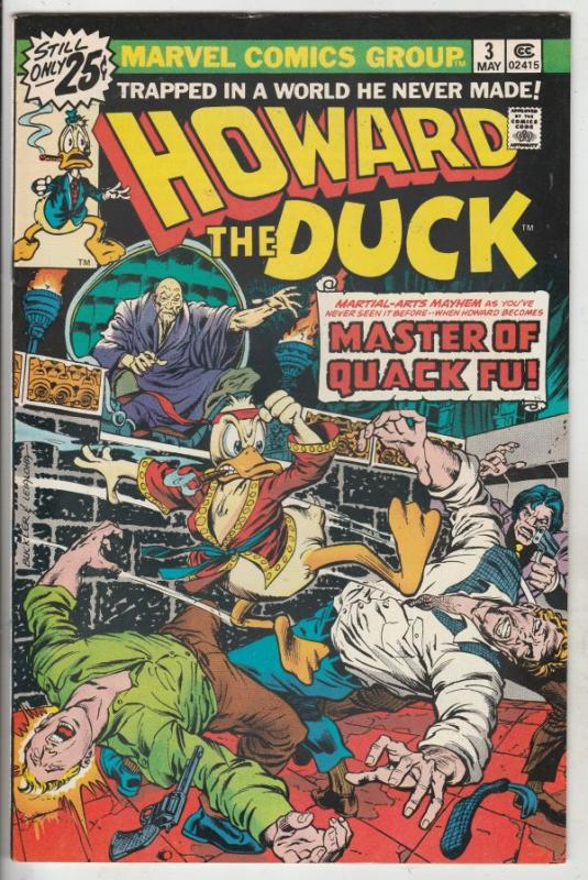 Howard the Duck #3 (May-76) NM- High-Grade Howard the Duck
