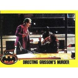 1989 Batman The Movie Series 2 Topps DIRECTING GRISSOM'S MURDER #233