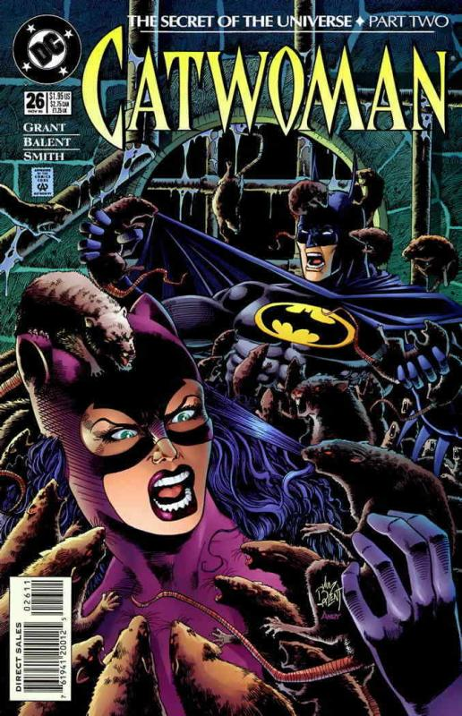 Catwoman (2nd series) #26 VF/NM; DC | combined shipping available - details insi