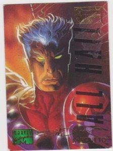1995 Marvel Masterpieces Emotion Signature Series #61 Magneto